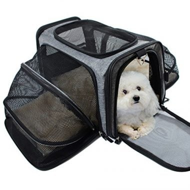 Pet Carrier for Dogs – Airline Approved Animal Carriers