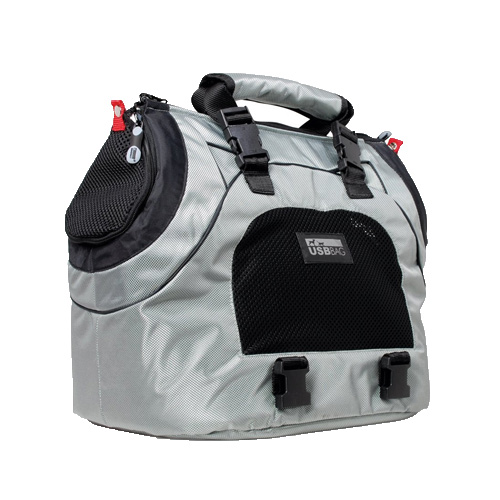 Pet Ego Multifunctional Silver Dog Carrier