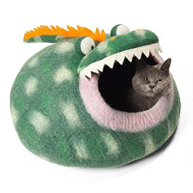 Twin Critters – Handcrafted Cat Cave Bed