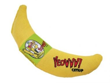 Yeowww! Catnip Toy Yellow Banana