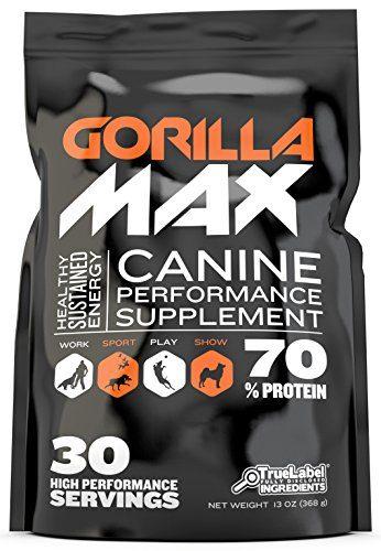 Gorilla Max Canine Performance Supplement