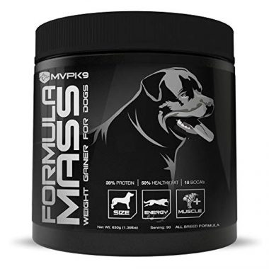 MVP K9 Supplements Formula Mass Weight Gainer for Dogs