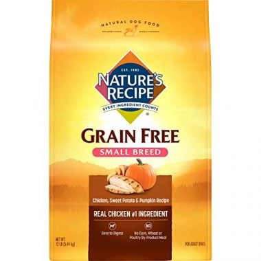 Nature'S Recipe Grain Free Dry Dog Food Small Breed