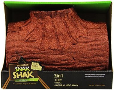 Ecotrition Snak Shak Large Activity Log For Guinea Pigs
