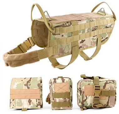 JASGOOD Tactical Dog Vest