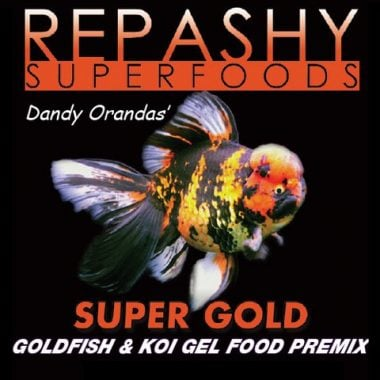 Repashy Super Gold Goldfish Gel Food