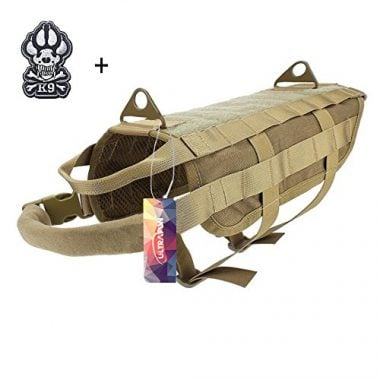 Ultrafun Tactical Dog Vest Military Training Harness