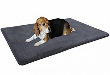 Dogbed4less Premium Cooling Memory Foam Pet Mat