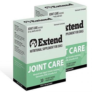 Extend Joint Care Natural Glucosamine with MSM for Older Dogs