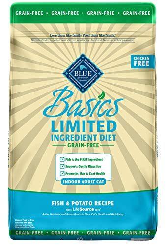 Blue Buffalo Basics Limited Ingredient Diet Grain Free Cat Food