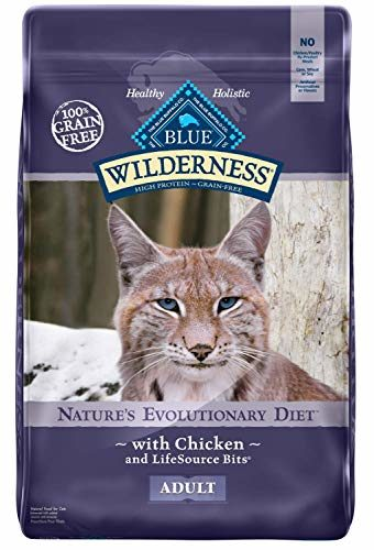 Blue Buffalo Wilderness High Protein Cat Food for Constipation