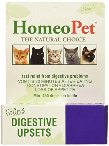 HomeoPet Feline Cat Food for Constipation
