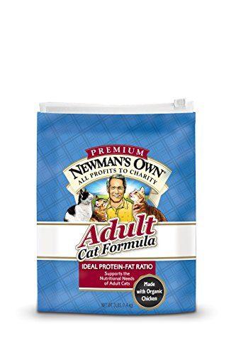 Newman'S Own Premium Adult Cat Dry Formula