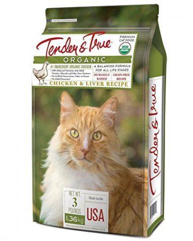 Tender & True Pet Food Organic Cat Food