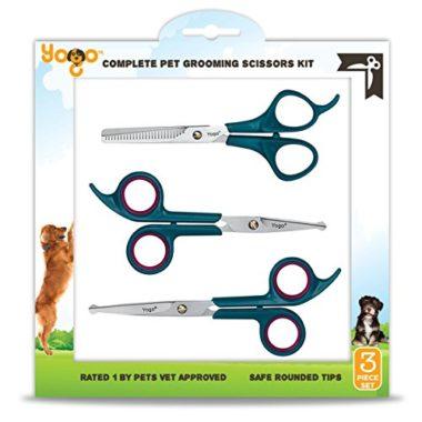 Yogo Pet Grooming Scissors Kit