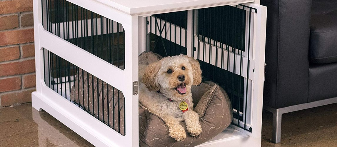 best-dog-crate-end-table