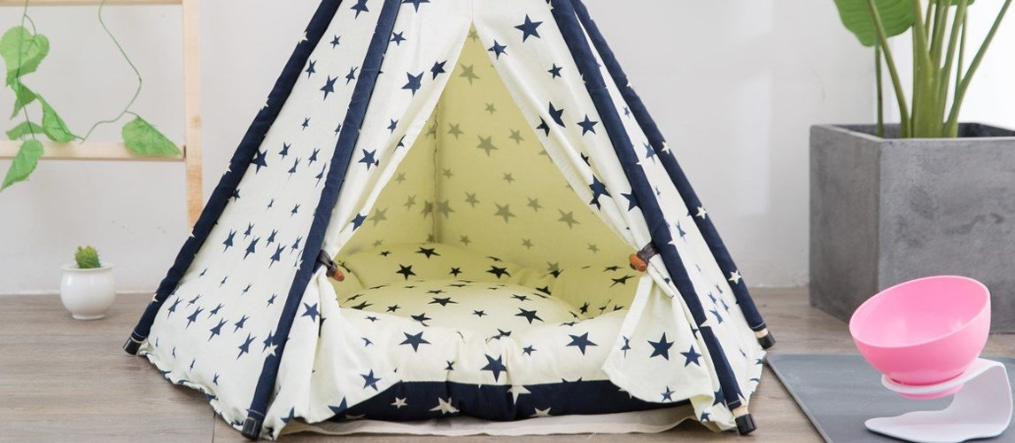 best-teepee-bed-for-dogs