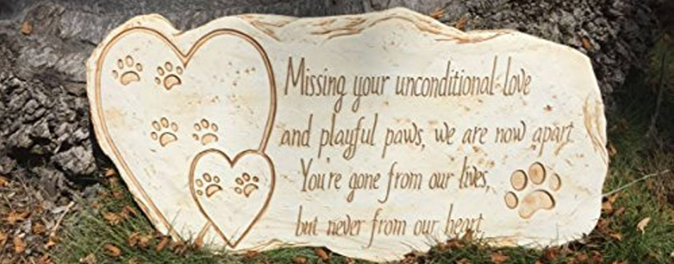 The Best Dog Memorial Stone Review In 2019 My Pet Needs That