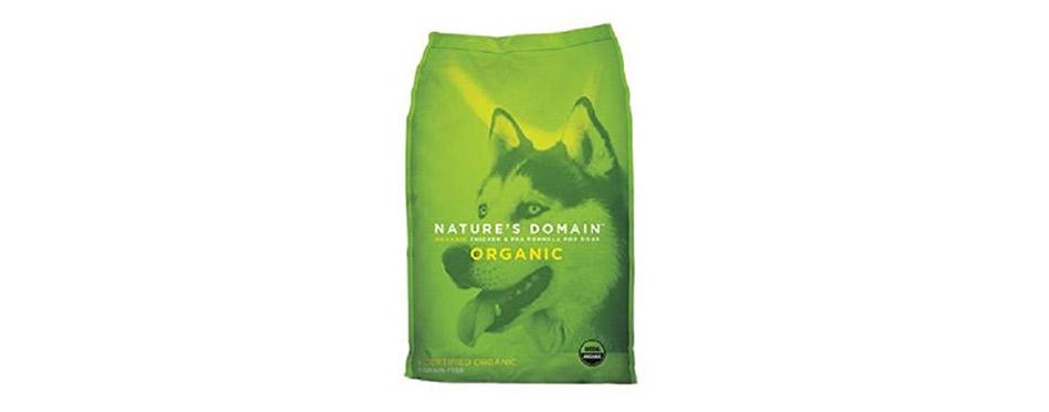 Nature's Domain USDA Organic Chicken & Pea Formula