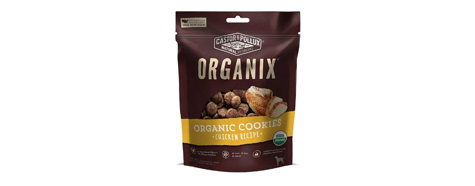 Organix Chicken Flavored Dog Organic Cookies