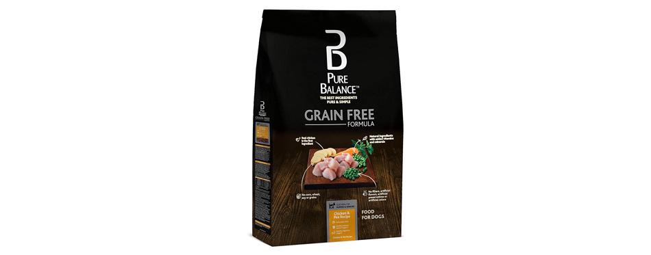 Pure Balance Grain Free Chicken & Pea Dog Food