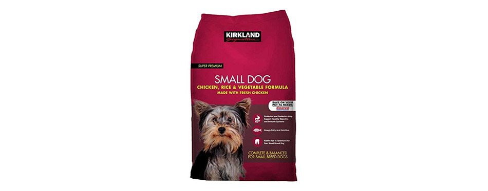 Small Breed Adult Dog Formula Chicken, Rice