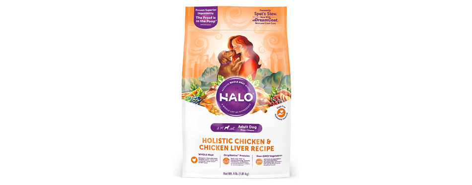 Halo Natural Adult Recipe Dry Dog Food
