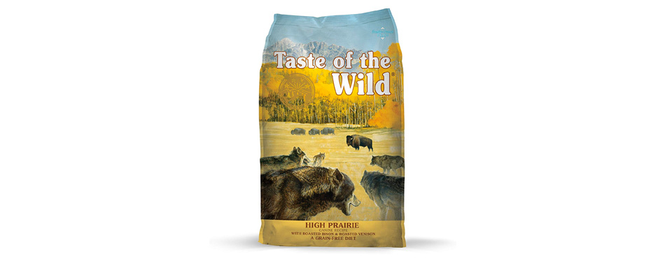 Taste of The Wild Grain Free Dog Food for Labs