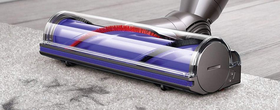 Pet hair vacuuming