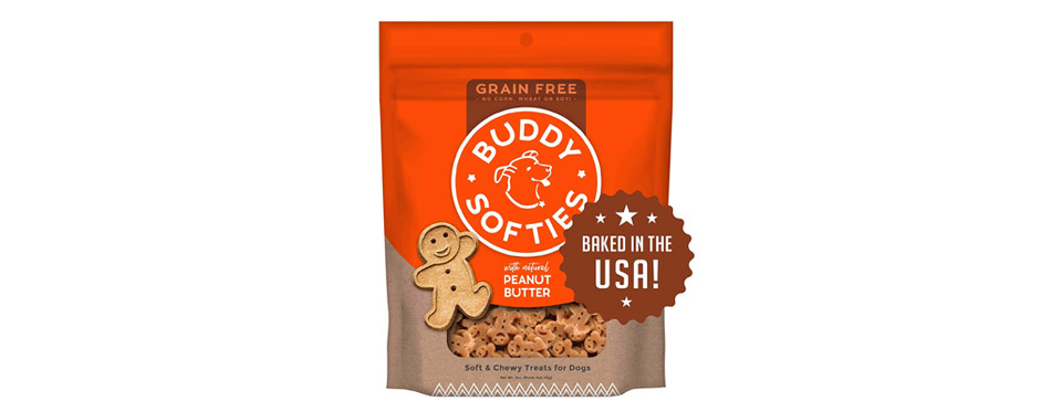 Buddy Softies With Natural Peanut Butter