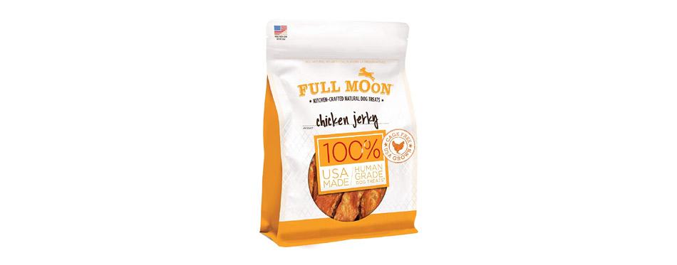 Best Human Grade: Full Moon Chicken Jerky Human-Grade Dog Treats