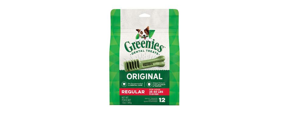 Best Dental: Greenies Regular Dental Dog Treats