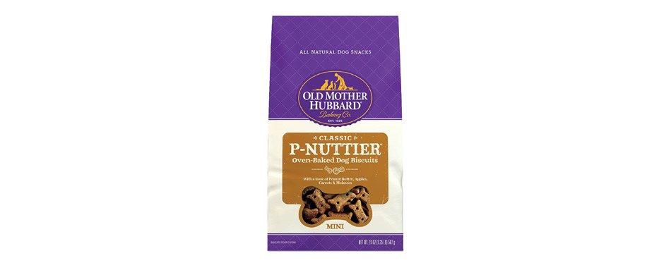 Best Dog Biscuits: Old Mother Hubbard P-Nuttier Dog Biscuits