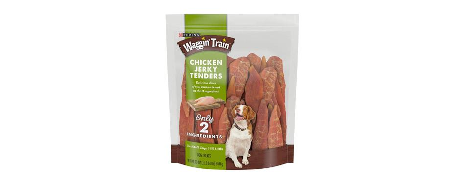 Purina Waggin Train Chicken Jerky Tenders Dog Treats