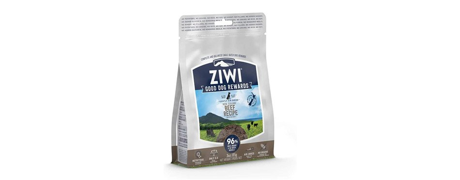 Best Overall: Ziwi Good Dog Rewards Air-Dried Beef Dog Treats