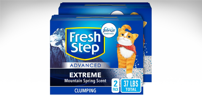Fresh-Step-Extreme-Clumping-Cat-Litter-(2021)-Review