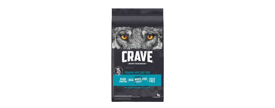 Crave High Protein Adult Grain-Free Dry Dog Food
