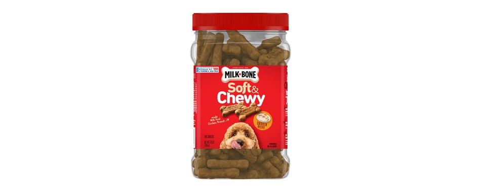 Best Diabetic: Milk-Bone Soft & Chewy Chicken Recipe Dog Treats