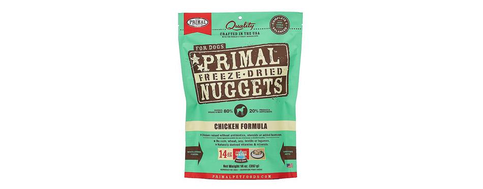 Primal Chicken Formula Nuggets Grain-Free Raw Food