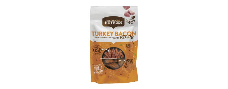 Best Real Meat Treats: Rachael Ray Nutrish Turkey Bacon Dog Treats