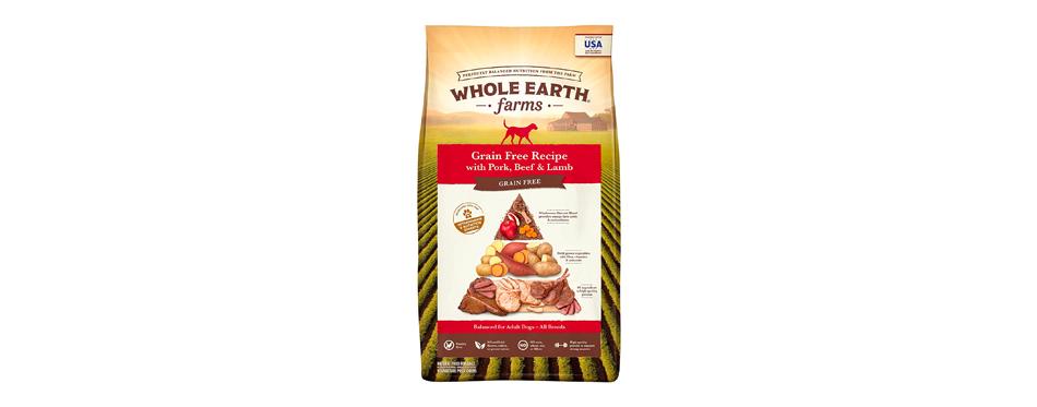 Whole Earth Farms Grain-Free Pork, Beef