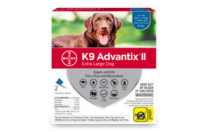 Bayer K9 Advantix II Flea Treatment for Dogs
