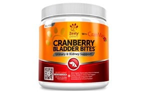 Cranberry Treats with Cran-Max for Dogs by Zesty Paws
