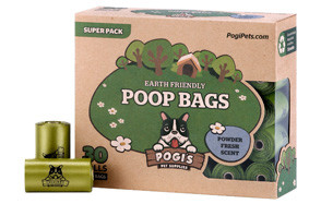 Earth-Friendly Poop Bags by Pogi's Pet Supplies