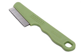 Flea Comb with a Double Row of Teeth by Safari Pet Products