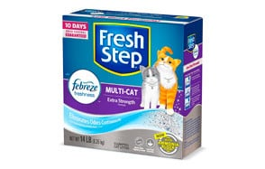 Fresh Step Multi-Cat Clumping Cat Litter