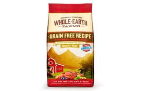 Grain Free Recipe with Pork, Beef & Lamb Dry Dog Food