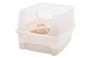 IRIS Open Top Cat Litter Box Kit