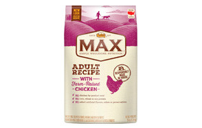 MAX Adult Recipe with Farm-Raised Chicken by Nutro