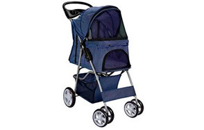 Paws & Pals City Walk N Stride Dog Stroller